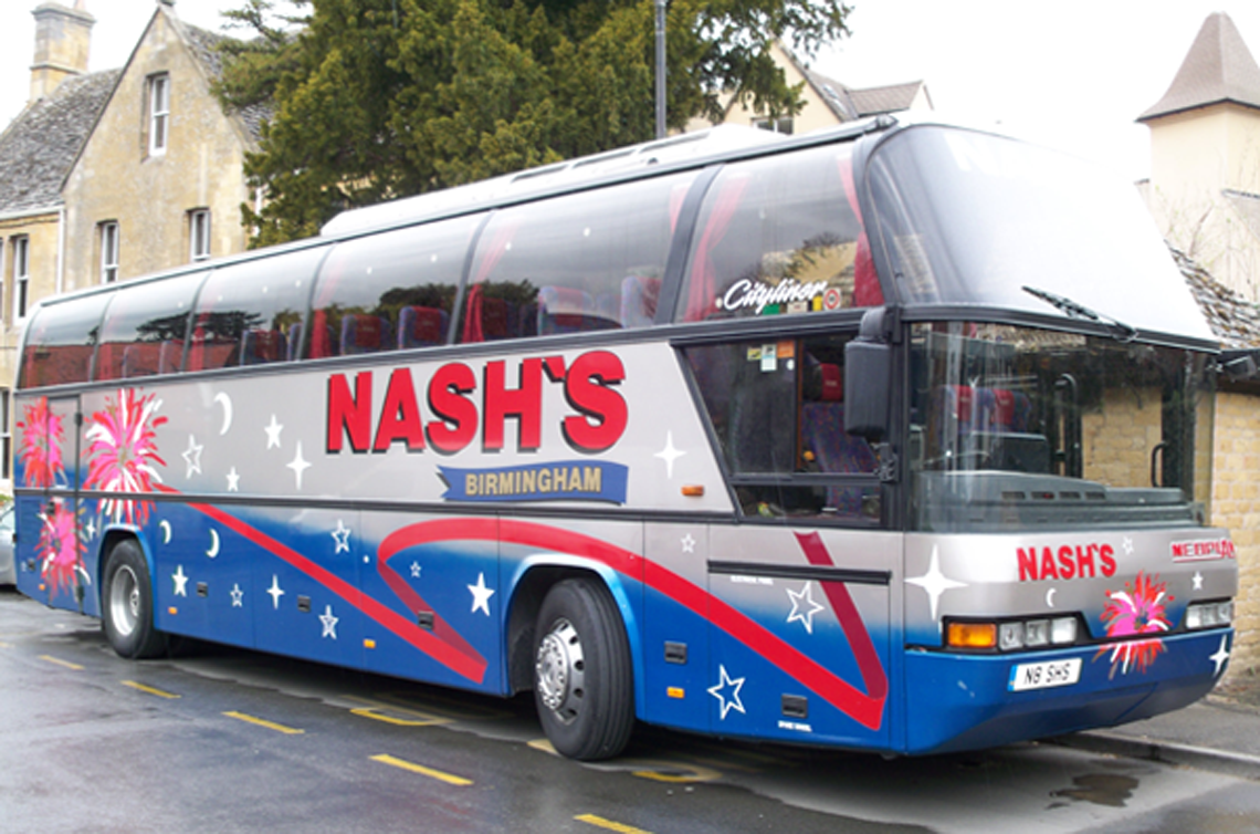Coach Hire Nash Coaches Call Us On 0121 558 0024